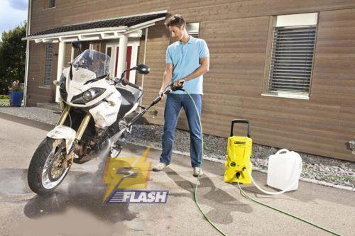 máy xịt rửa xe Karcher chạy điện