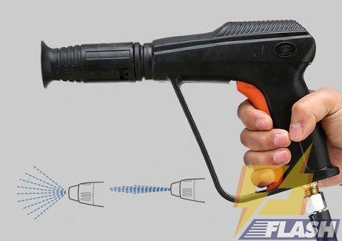 cách sử dụng súng phun nước máy rửa xe