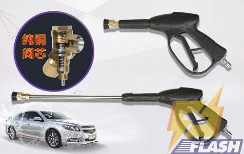 cách sử dụng súng phun máy rửa xe