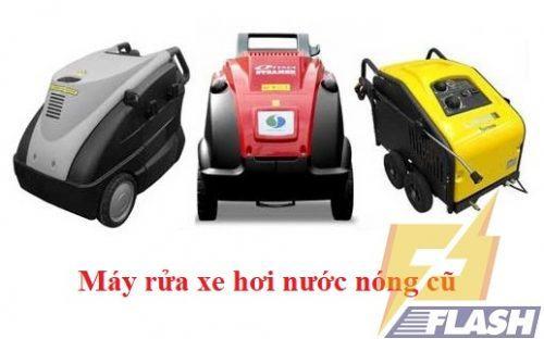 máy rửa xe cao áp hơi nước nóng cũ