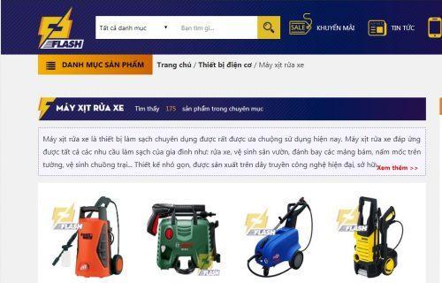 mua máy rửa xe mini Thái Lan ở đâu