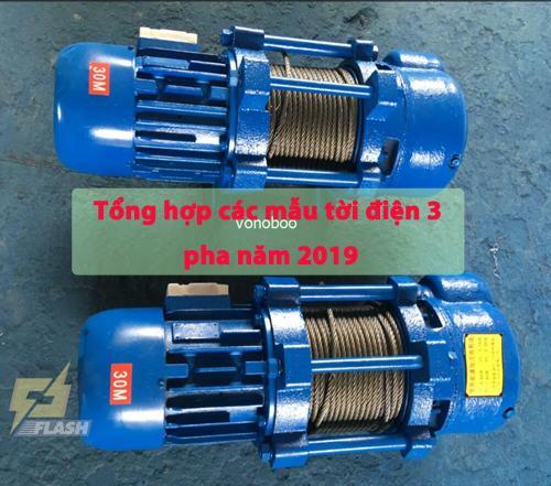 Gợi ý một số loại máy tời điện 1 pha, 3 pha phổ biến hiện nay - 261297