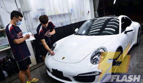 cách rửa xe