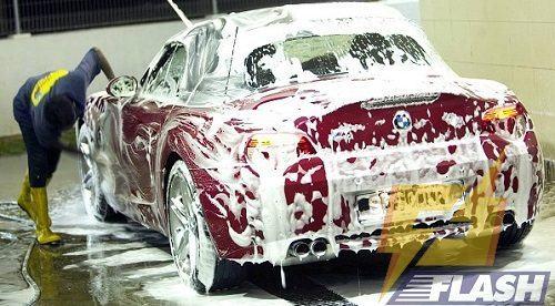 cấu tạo máy rửa xe cao áp bọt tuyết
