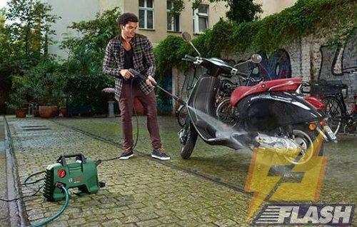 máy rửa xe cao áp 100 bar