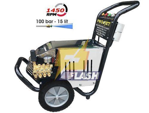 máy rửa xe 100 bar