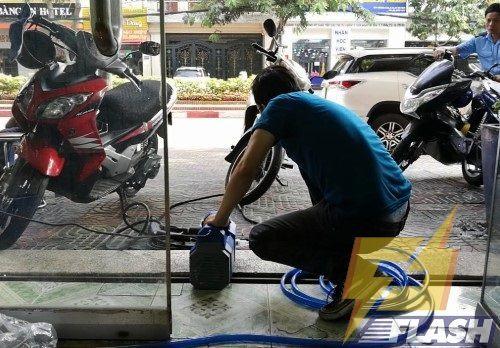 máy xịt rửa xe Hyndai HRX815