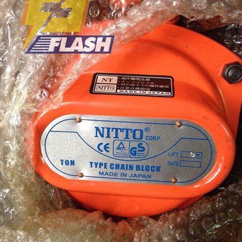 Pa lăng xích kéo tay Nitto 5 tấn 5m