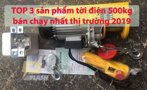 3 sản phẩm tời điện 500kg bán chạy nhất