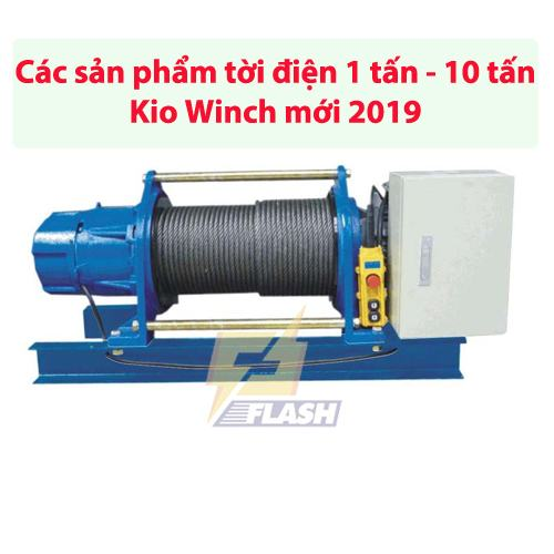 tời điện 1 tấn - 10 tấn Kio Winch