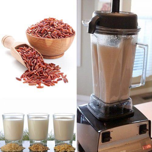 dạy cách làm sữa gạo tăng cân