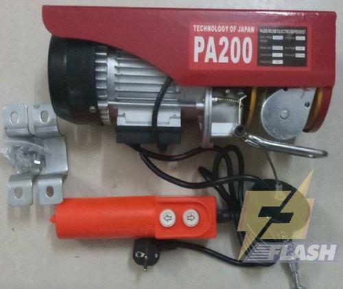 Giá sản phẩm tời điện 200kg