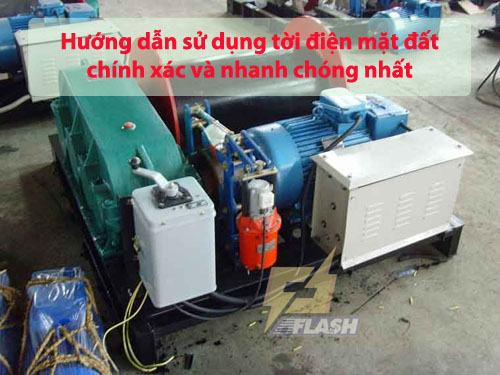 Hướng dẫn sử dụng tời điện mặt đất cho người sử dụng lần đầu - 261856