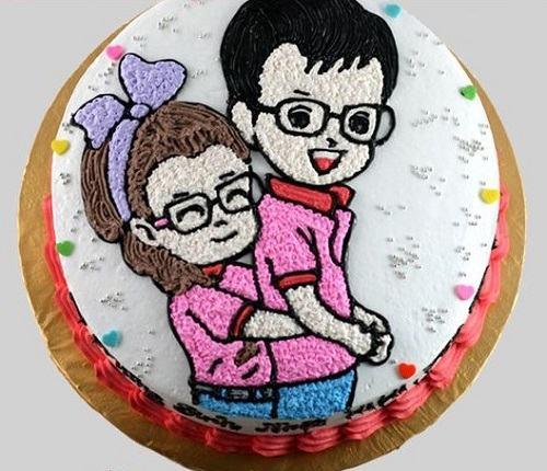 bánh sinh nhật đẹp nhất tặng người yêu