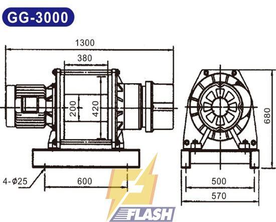 Lưu ý khi sử dụng tời điện Kio Winch GG-3000
