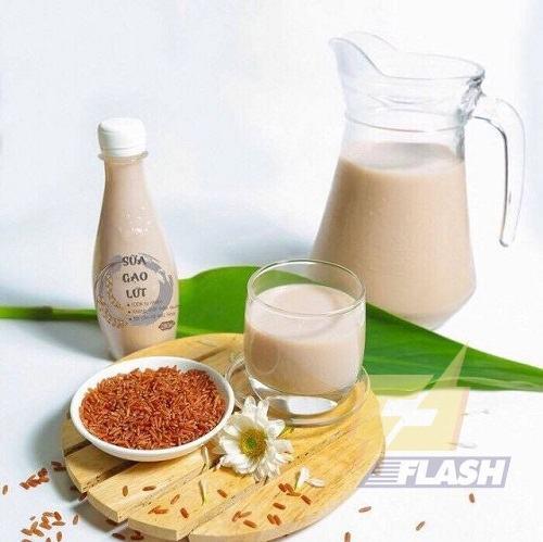 Cách làm sữa gạo lứt cho bé