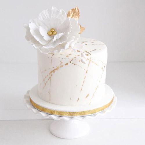mẫu bánh sinh nhật 1 tầng