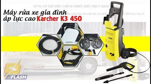 máy rửa xe áp lực Karcher K3 450