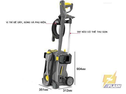 máy rửa xeáp lực Karcher HD 5/11P *EU